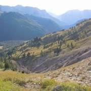 sentiero 608 - scorcio verso la Val S. Nicolò